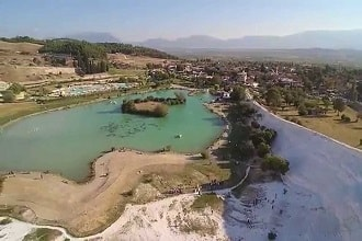 Denizli Pamukkale Havadan Kamera İzle