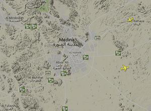 Medine Havalimanı Canlı Uçuş Takip