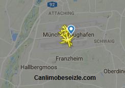 Münih Havalimanı Canlı Uçuş Uçak Takibi