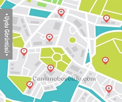 Kayseri Develi Yenice Mahallesi Uydu Görüntüsü Haritası