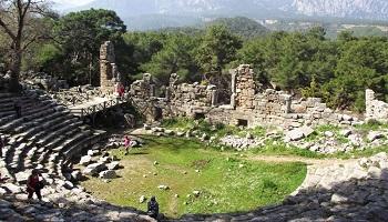 Kemer Phaselis Antik Tiyatrosu Sanal Tur İzle