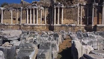 Manavgat Anıtsal Çeşme (Nymphaeum) Sanal Tur İzle