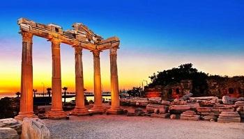Manavgat Apollon Tapınağı Sanal Tur İzle
