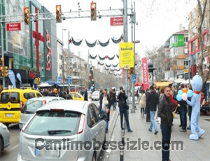 İstanbul Bağdat Caddesi canlı mobese izle